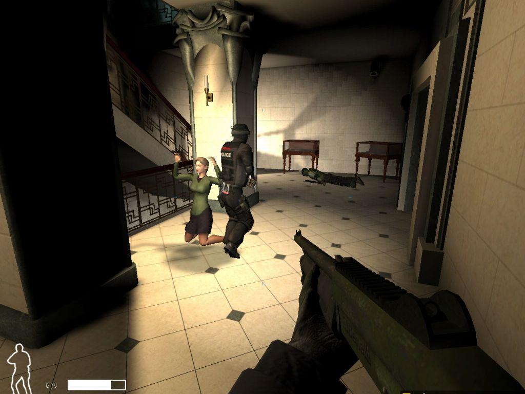 SWAT 4 (2005) PC (Rus) RePack. Посмотреть полноразмерный скриншот.