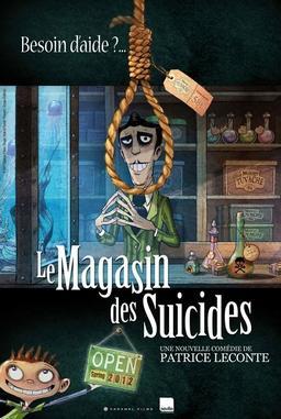 Обложка для Магазин самоубийств /Le magasin des suicides/ (2012)