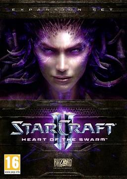 Обложка для StarCraft 2: Wings of Liberty + Heart of the Swarm (2013)