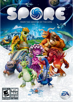 Обложка для Spore (2008)