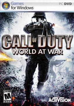 Обложка для Call of Duty: World at War (2008)