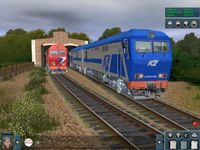 Скачать симулятор поезда твоя железная дорога