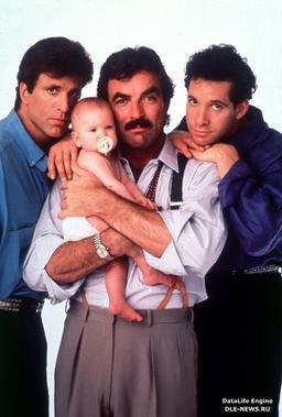 Обложка для Трое мужчин и младенец /Three Men and a Baby/ (1987)