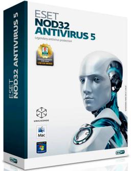 Обложка для ESET NOD32 Antivirus