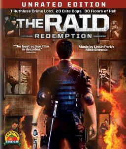 Обложка для Рейд /The Raid: Redemption / Serbuan maut/ (2011)