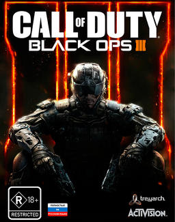Обложка для Call of Duty: Black Ops III (2015)