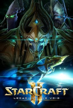 Обложка для StarCraft II: Legacy of the Void (2015)