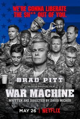 Обложка для Машина войны /War Machine/ (2017)