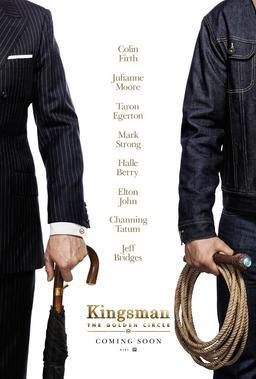 Обложка для Kingsman: Золотое кольцо /Kingsman: The Golden Circle/ (2017)