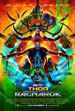 Обложка для Тор: Рагнарёк /Thor: Ragnarok/ (2017)