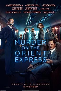 Обложка для Убийство в Восточном экспрессе /Murder on the Orient Express/ (2017)
