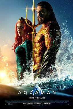 Обложка для Аквамен /Aquaman/ (2018)