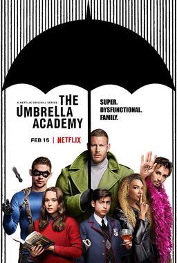 Обложка для Академия «Амбрелла» /The Umbrella Academy/ (2019)