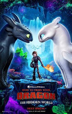 Обложка для Как приручить дракона 3 /How to Train Your Dragon: The Hidden World/ (2019)