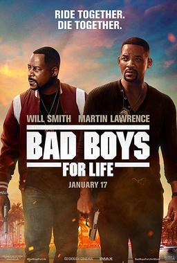 Обложка для Плохие парни навсегда /Bad Boys for Life/ (2020)